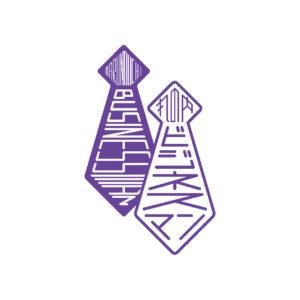 丸の内・近代ビジネスマンのくらし展 ロゴ 2012