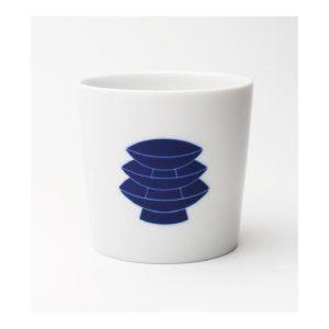 CREATION Project 2016 熊本天草陶石の磁器展 藍色カップ
